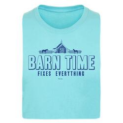 "Stirrups ""Barn Time"" Short Sleeved Ladies Tee"