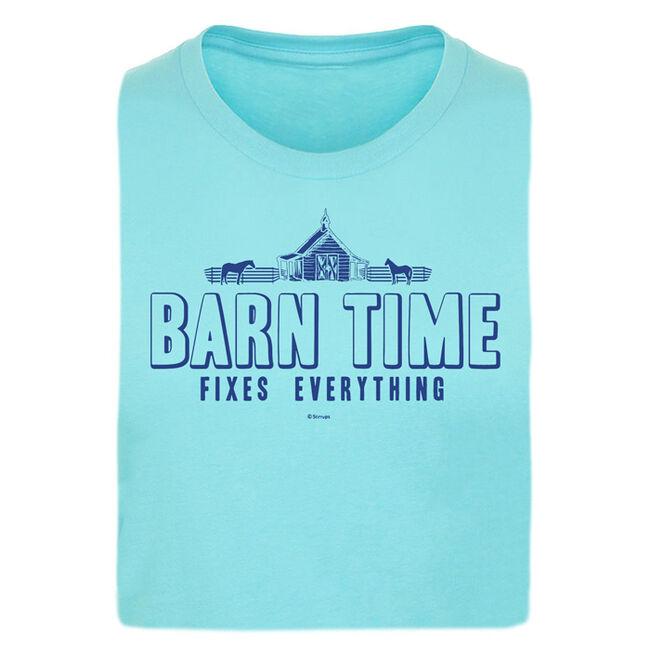 "Stirrups ""Barn Time"" Short Sleeved Ladies Tee image number null"