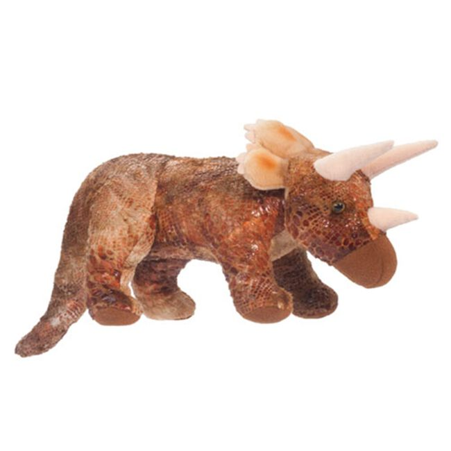 Douglas Small Triceratops Plush Toy image number null