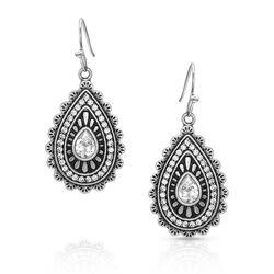 Montana Silversmiths Purely & Primal Teardrop Silver Earrings