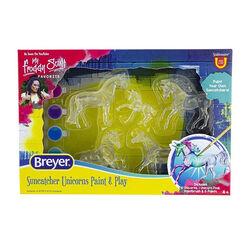 Breyer Suncatcher Unicorns Paint and Play