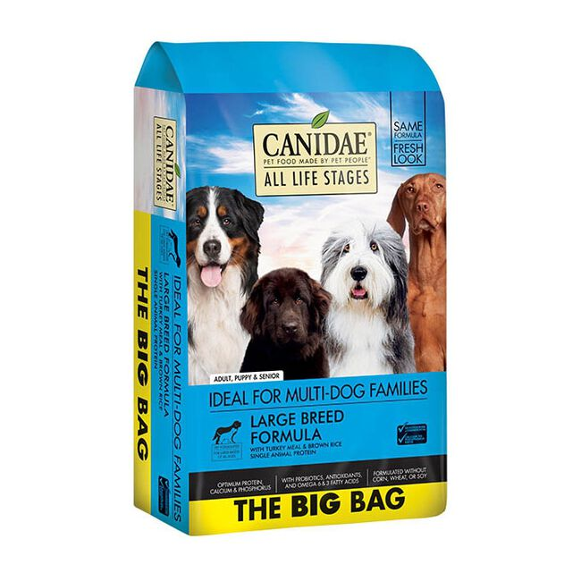 Canidae All Life Stages Large Breed Turkey & Rice Premium Dry Dog Food image number null