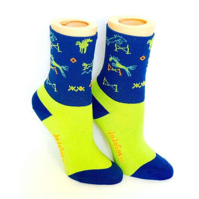 JoJoSox Cross Country Low Boot Cuff Socks image number null
