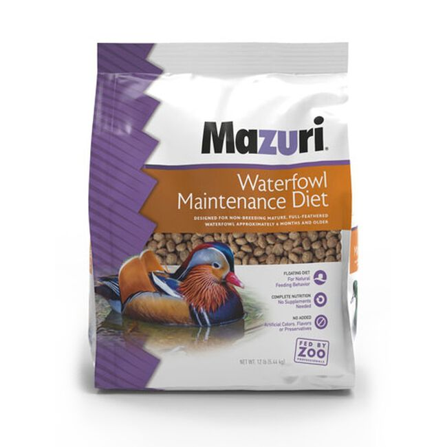 Mazuri Waterfowl Maintenance - 50 lb image number null