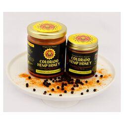 Colorado Hemp Honey for People & Pets - Turmeric & Black Pepper Creamed