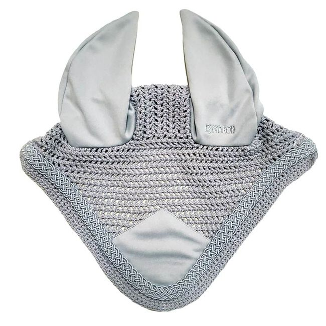 Eskadron Anti Fly Bonnet with Braid Trim - Gray image number null