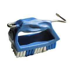 Rhino Pick Brush Hoof Brush - Blue