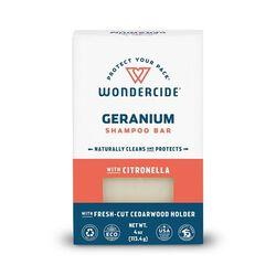 Wondercide Geranium Shampoo Bar for Dogs & Cats