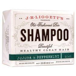 J.R. Liggett's Old Fashioned Shampoo Bar - Jojoba & Peppermint