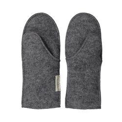 Ruskovilla Kids' Grey Wool Fleece Mittens