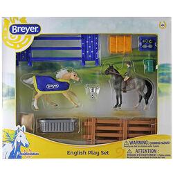 Breyer Stablemates English Play Set