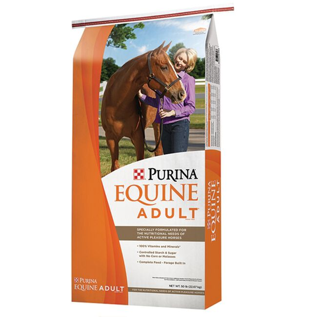 Purina Equine Adult 50 lbs image number null