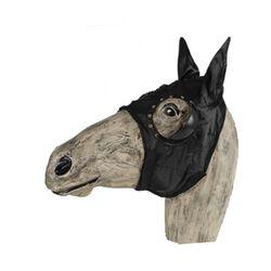 Jacks Blinker Hood with Ears - Lace On Cup Black