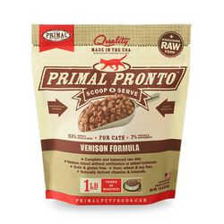 Primal Raw Frozen Nuggets for Cats - Venison