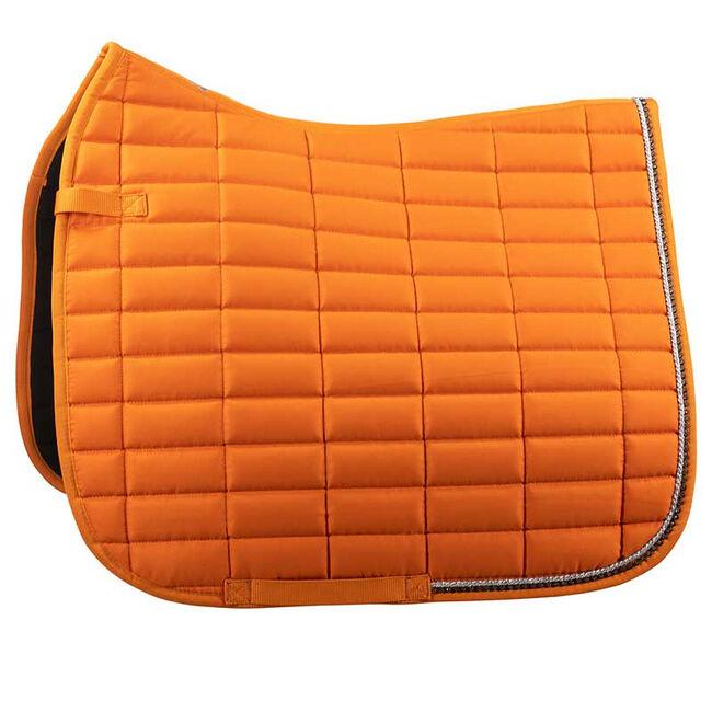 Horze Caesar Dressage Saddle Pad-Orange Pepper image number null