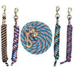 "Weaver Twist Poly Lead Rope 5/8"" 10'"