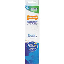 Nylabone Advanced Oral Care Natural Peanut Flavored Dog Toothpaste