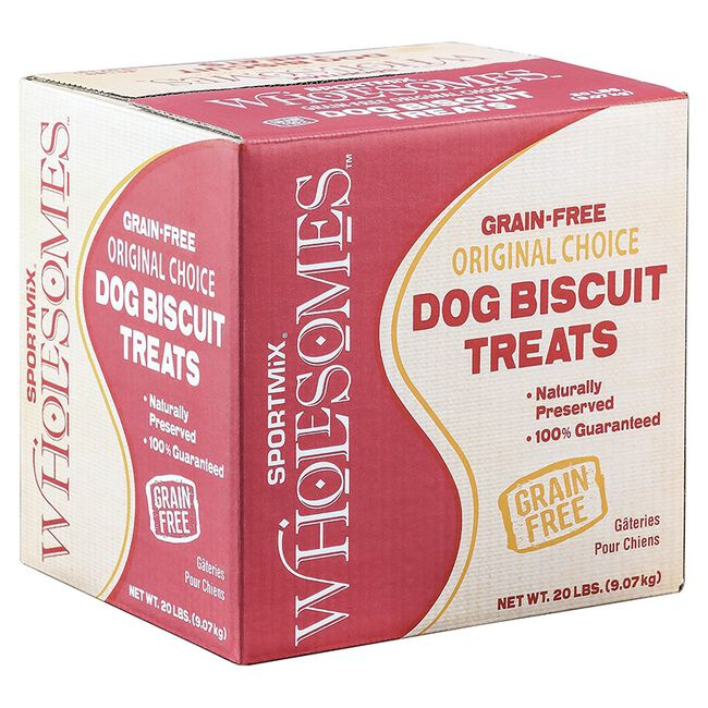 Sportmix Wholesomes Variety Dog Biscuit Treats - Puppy (20lb) image number null
