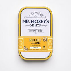 Mr. Moxey's Mints - Relief with CBD