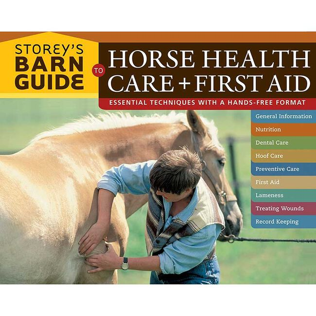 Storey's Barn Guide to Horse Health Care + First Aid image number null