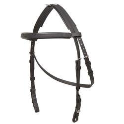 Zilco Hackamore Bridle Head Black, Horse