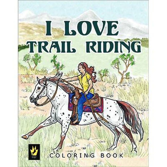 I Love Trail Riding Coloring Book image number null