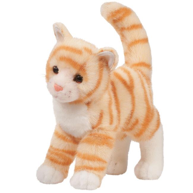 Douglas Tiffy Orange Tabby Plush Toy image number null