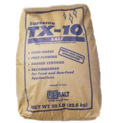 US Salt Superior TX-10 Bagged Granulated White Salt
