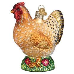 Old World Spring Chicken Ornament
