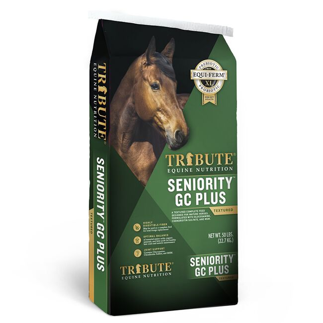 Tribute Seniority Textured GC Plus Horse Feed image number null