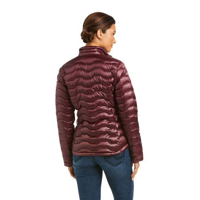 Ariat Women's Ideal 3.0 Down Jacket, Iridescent Windsor Wine image number null