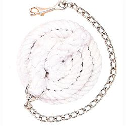 Weaver Cotton Lead Rope With Chain
