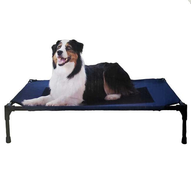 K&H Pet Products Elevated Pet Bed - Navy image number null