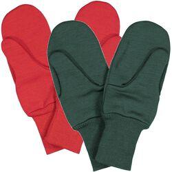Ruskovilla Kids' 2-Ply Wool Mittens