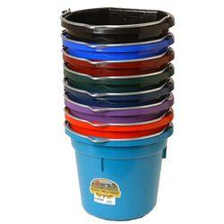 DuraFlex 5 Gallon Flatback Bucket