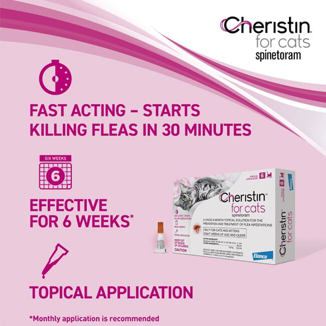 Cheristin Flea Protection for Cats image number null