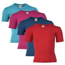 Engel Kids' Tee Shirt  - Wool/Silk Blend