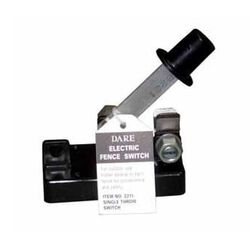 Dare Single Throw Electric Fence Switch