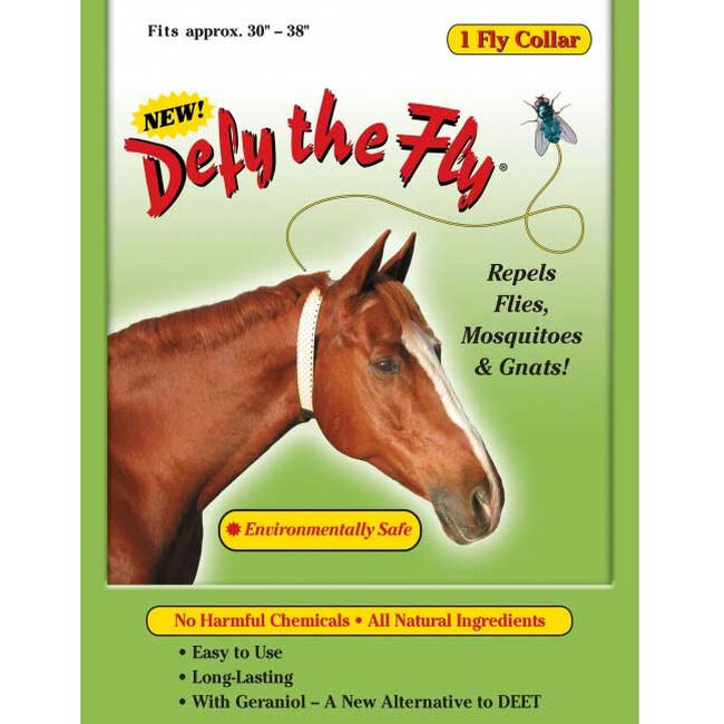Defy the Fly Equine Fly Collar image number null