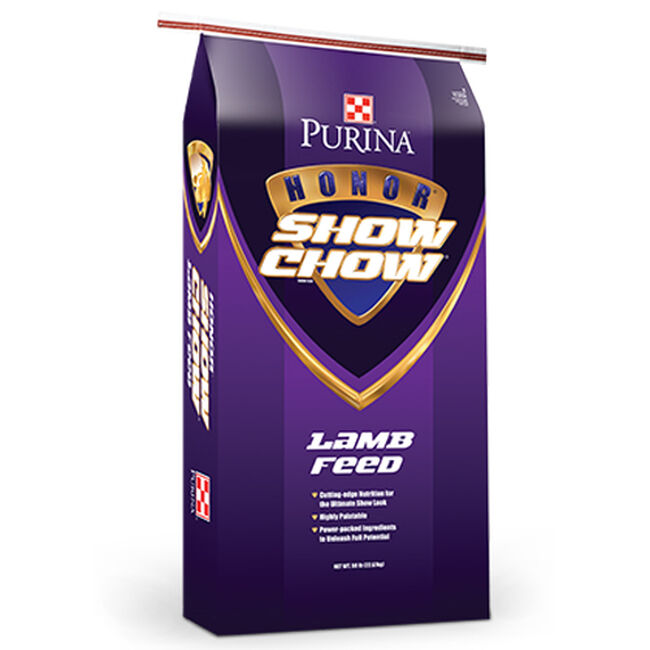 Purina Honor Show Chow Showlamb Creep Pellet DX Nutritional Info image number null