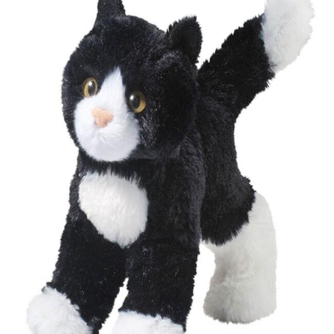 Douglas Snippy Black & White Cat Plush Toy  image number null