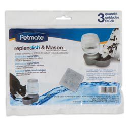 Petmate Replendish Waterer Replacment Filter 3PK