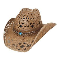 Bullhide Bean Me Up Straw Hat Large