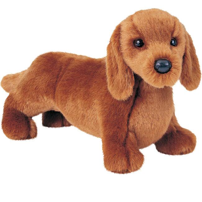 Douglas Gretel Red Dachshund Dog Plush Toy image number null