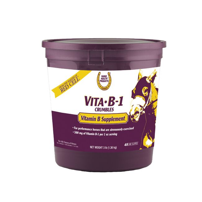 Horse Health Vita B-1 Crumbles - 3lb image number null