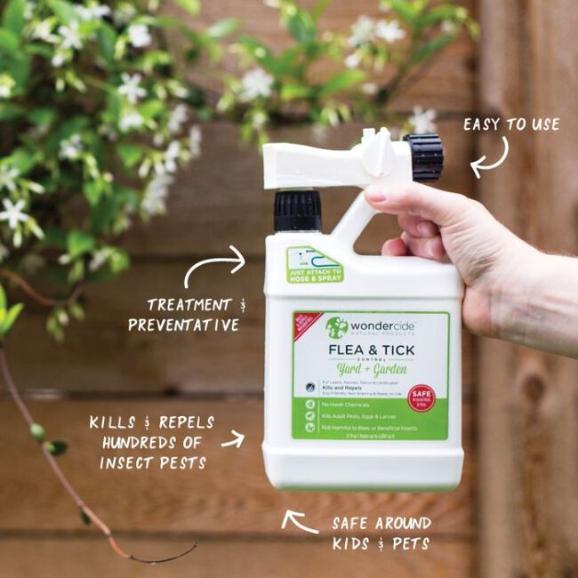 Wondercide Flea & Tick Control For Yard & Garden - Ready To Use image number null