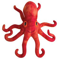 "SnugArooz Plush Sea Creature Dog Toy - Olivia the Octopus 11"""