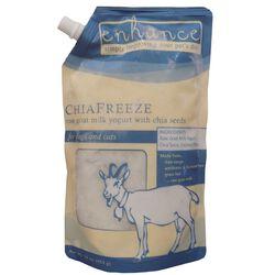 Steve's Real Food Raw Frozen Enhance Chia Freeze Goat Milk Yogurt Dog & Cat Food Topper