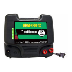 Powerfields 12 Joule - Cattleman - Dual-Zoning Fence Charger