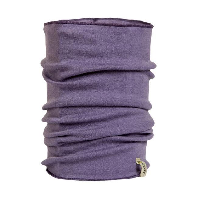 Janus Women's Merino Wool Neckwarmer-Purple image number null